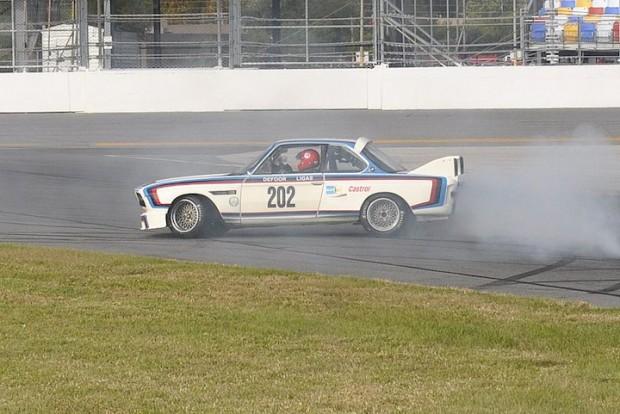 And away we go...1973 BMW 3.0 CSL - Byron DeFoor