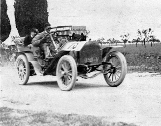George Heath Panhard 1906 French Grand Prix
