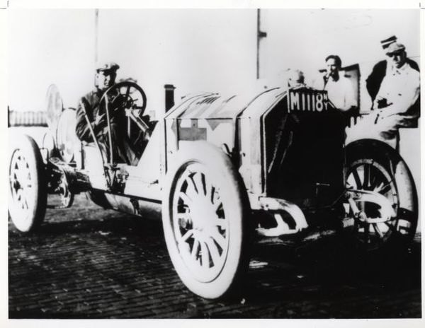 Bob Burman Benz #45 1911 Indianapolis 500
