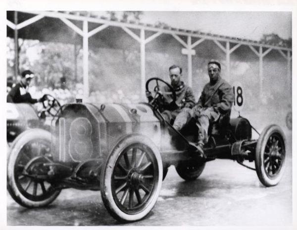 Eddie Hearne Fiat #18 1911 Indianapolis 500