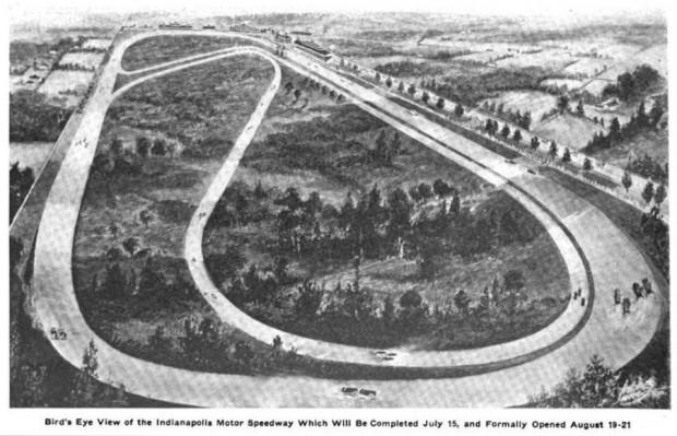 Original Speedway Layout