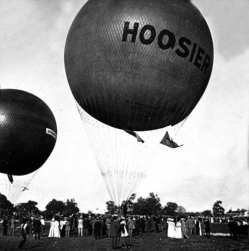 Balloon Races, June 1909