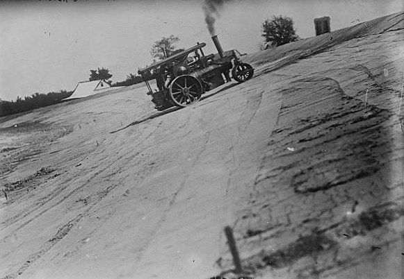 Grading the Indianapolis Speedway