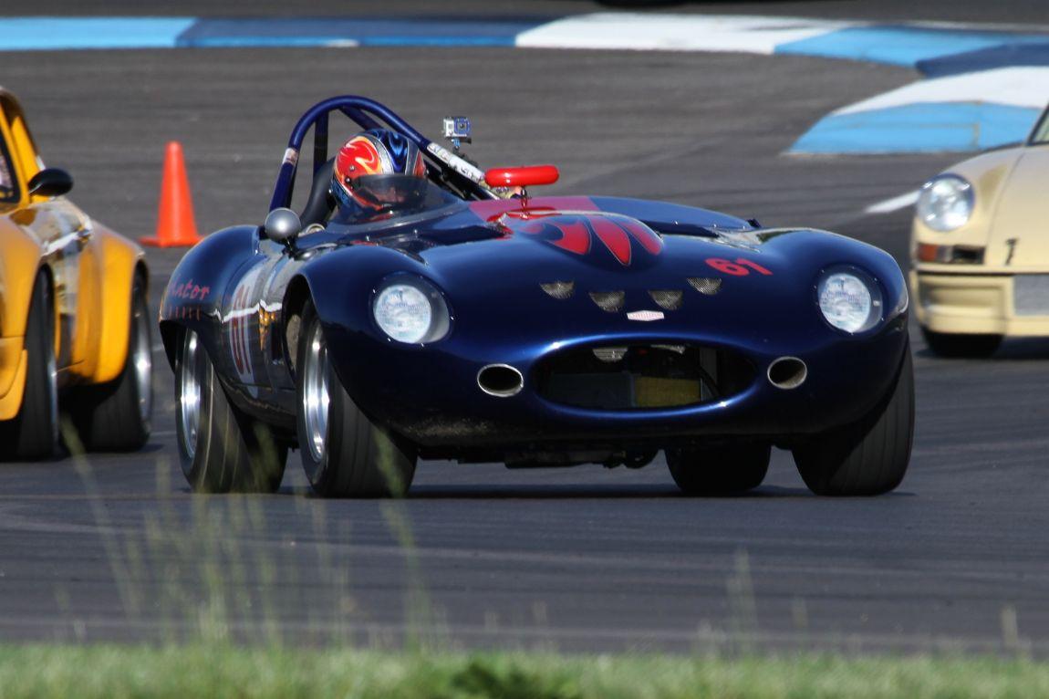 Larry Ligas, 61 Jaguar XKE