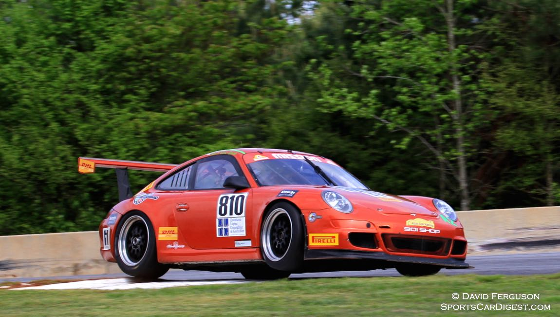 Juan Lopea-Santini, 08 Porsche 997 Cup, entered 5 events this weekend. He won all 5.