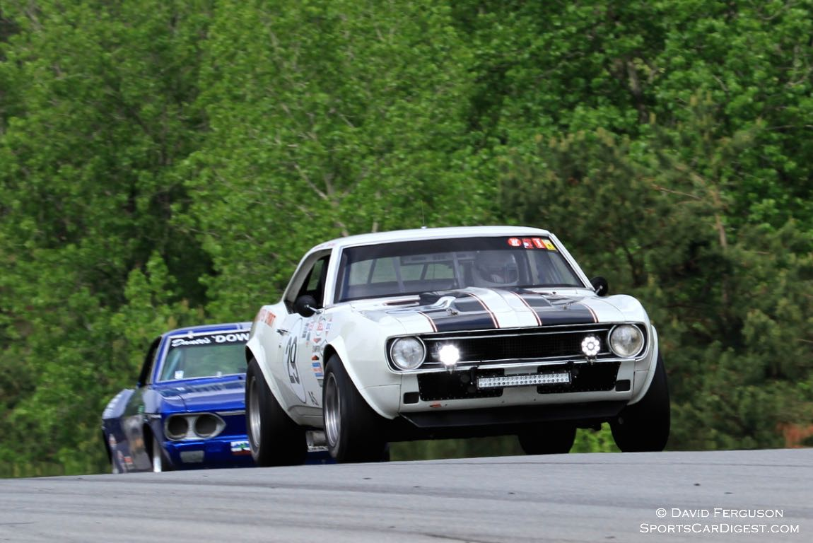 Grahame Bryant, 67 Chevy Camaro Z/28