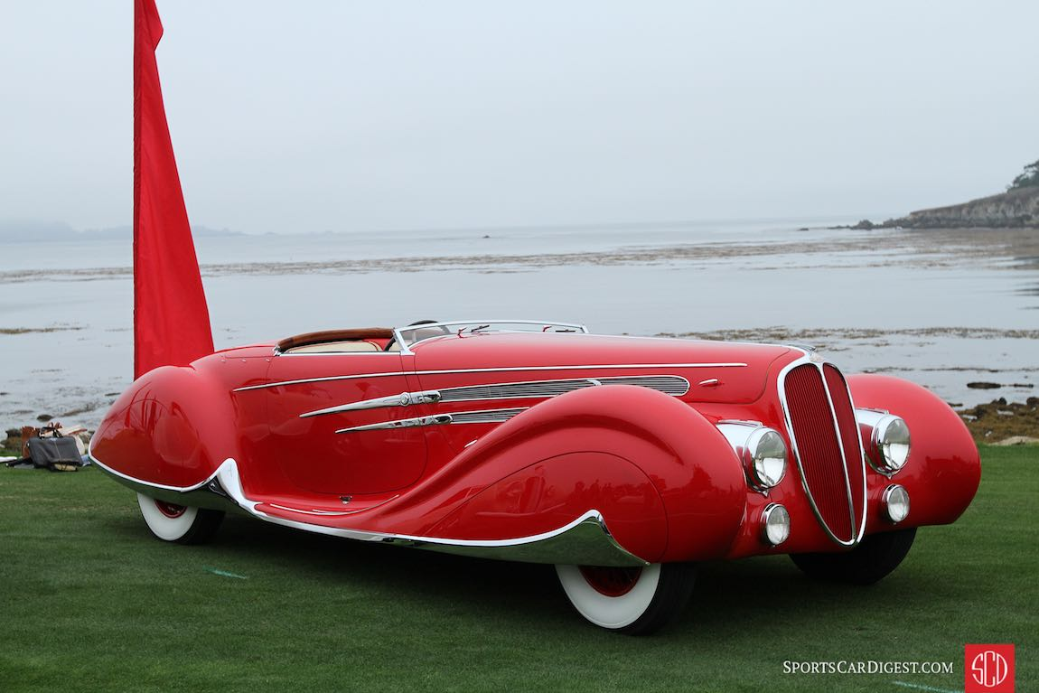 1938 Delahaye 165 Figoni and Falaschi Cabriolet
