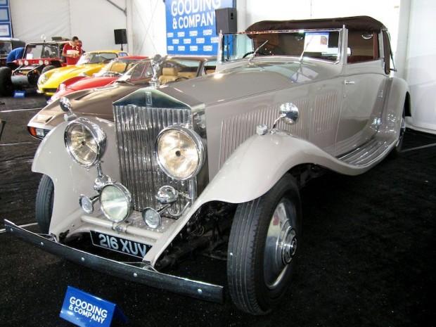1934 Rolls-Royce Phantom II Continental 3-pos. Drophead Coupe, Body by Gurney Nutting