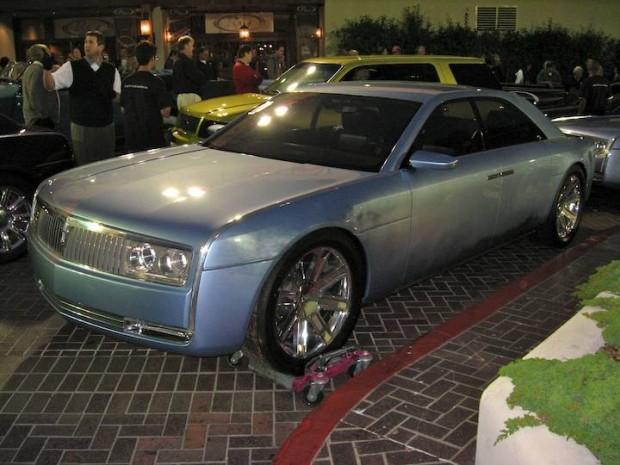 2002 Lincoln Continental Concept Shell Sedan