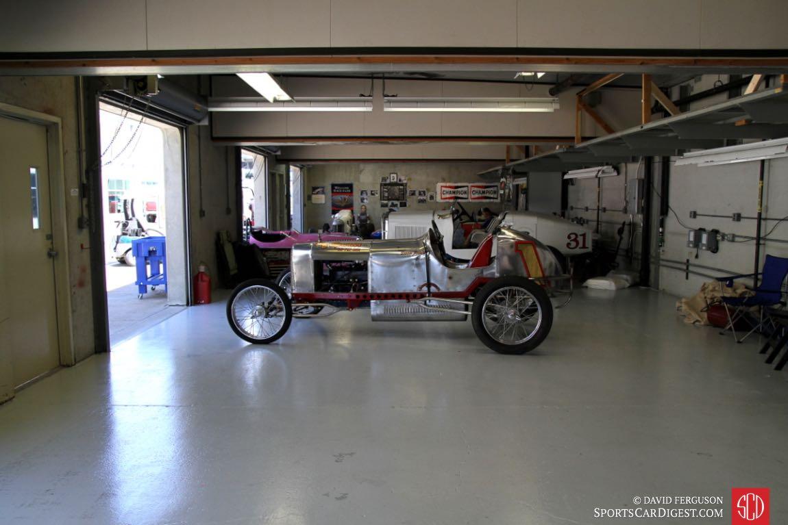A garage in Gasoline Alley.