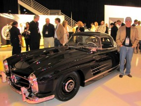 Bruce Canepa with Mercedes-Benz 300SL Roadster