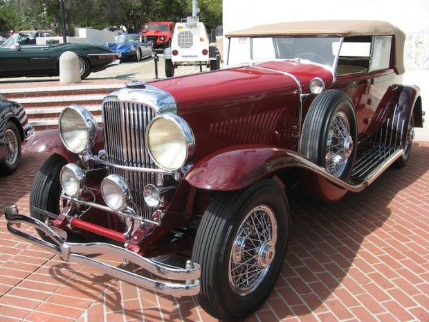 1931 Duesenberg Model J Convertible Sedan, Body by Murphy