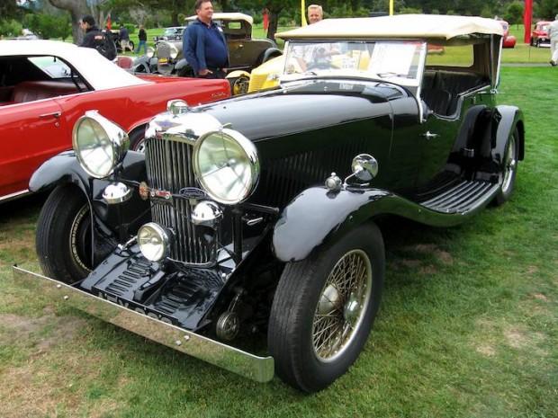 1934 Lagonda 16/80 S Type Special Six Tourer, Body by Vanden Plas
