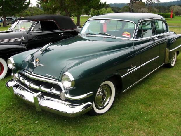 1954 Chrysler Imperial Custom 4-Dr. Sedan