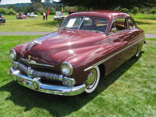 1950 Mercury 0CM Coupe