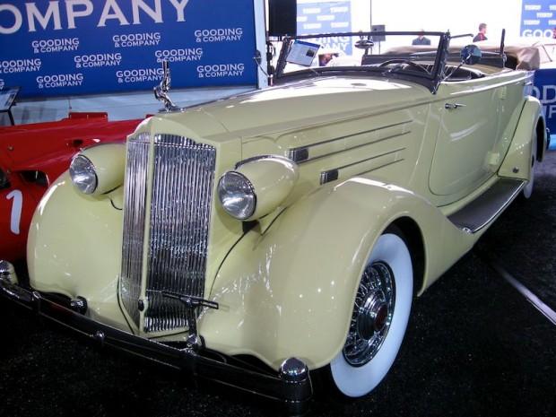 1936 Packard 1407 Twelve Dual Cowl Phaeton, Body by Dietrich