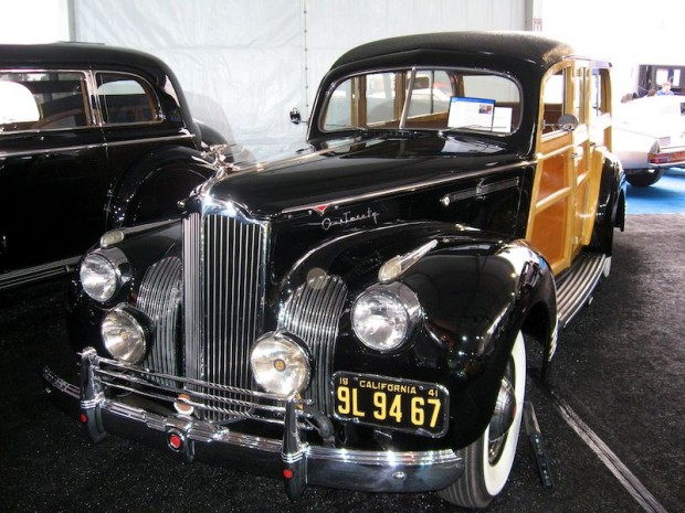 1941 Packard 120 Station Wagon, Body by Hercules