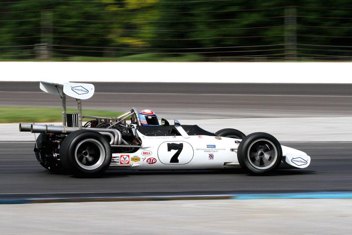 Tony Adamowicz, 69 Eagle F5000