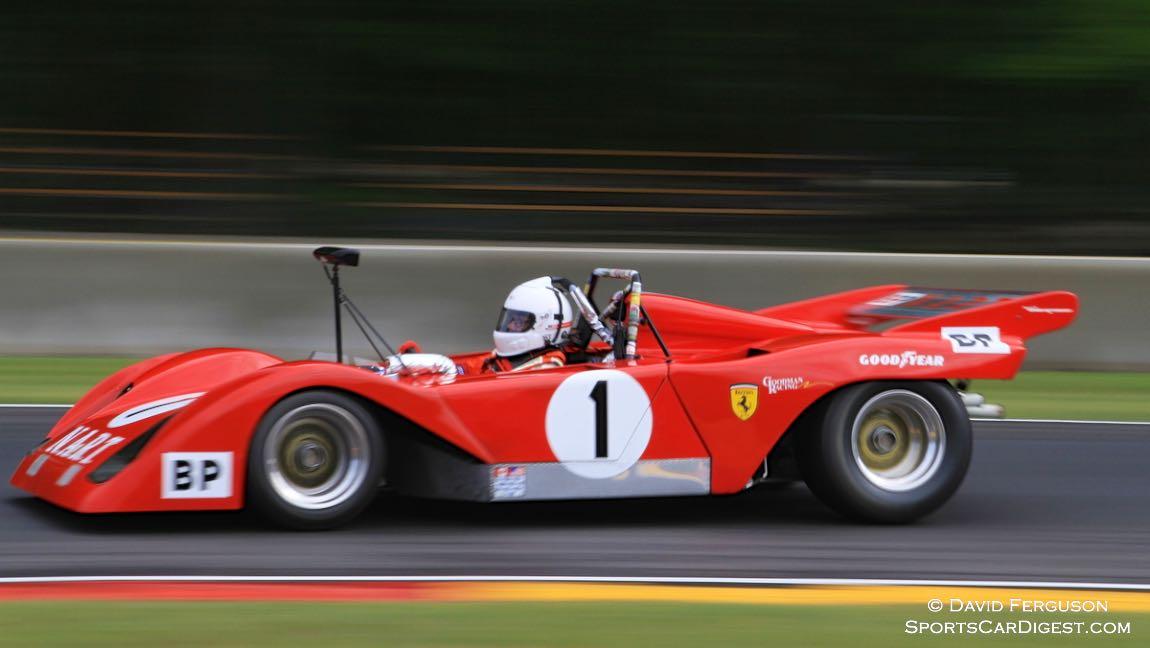 John Foodman, 72 Ferrari 312-Sparling