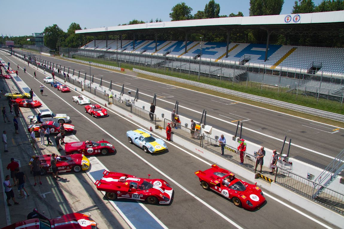 The Classic Endurance class at Monza Historic 2015