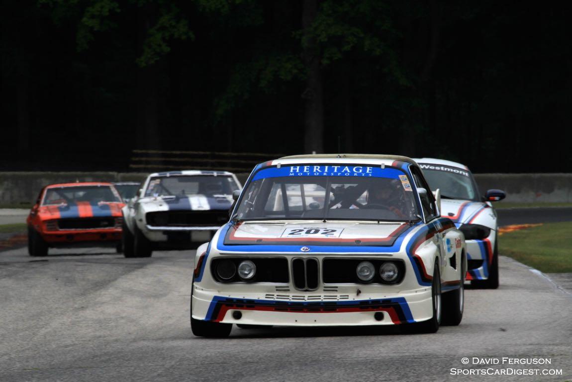 C H DeHaan, 73 BMW CSL 3500