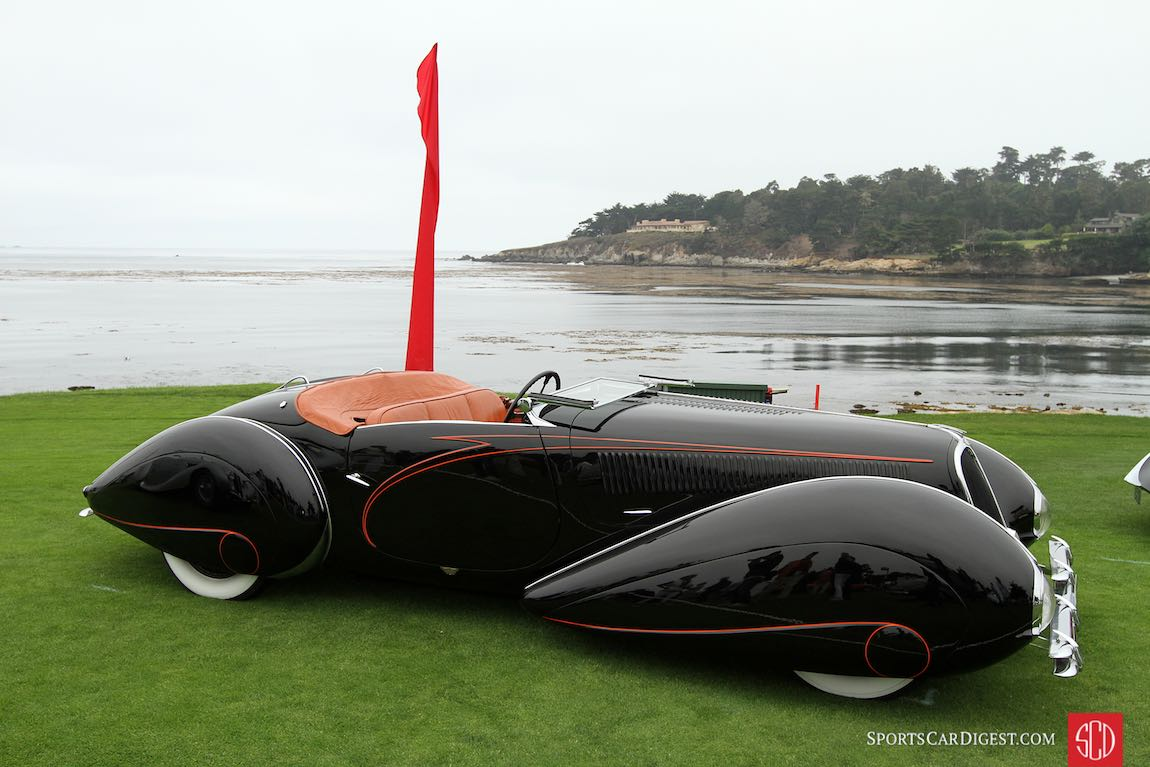 1938 Delahaye 135M Figoni and Falaschi Roadster
