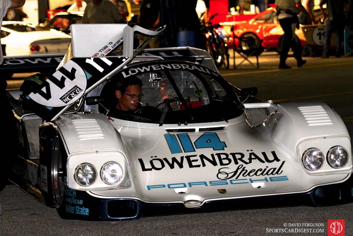 Gunnar Jeannette, 86 Porsche 962