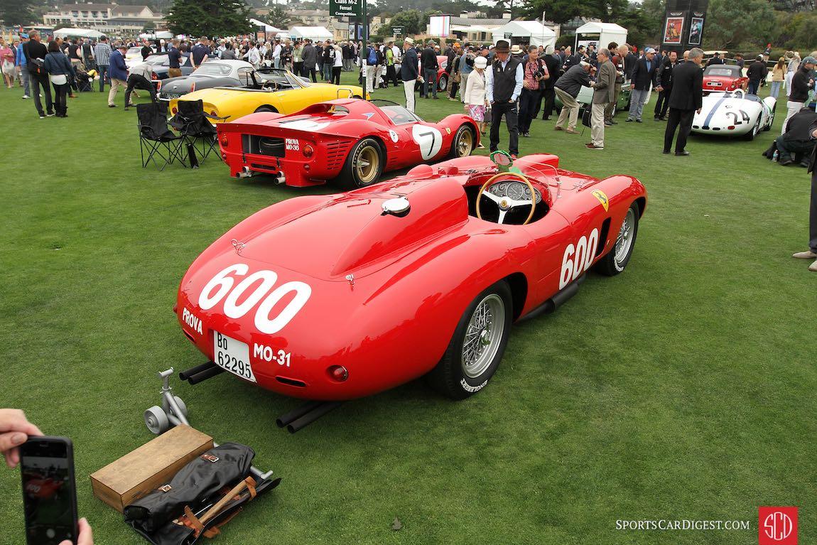 1956 Ferrari 290 MM Scaglietti Spyder and the Ferrari Competition Class