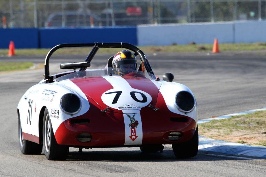 Vic Skirmants, 1961 Porsche 356B