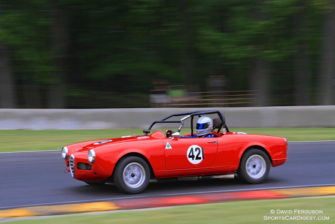 Rick Davis, 65 Alpha Romeo Giulia Spider