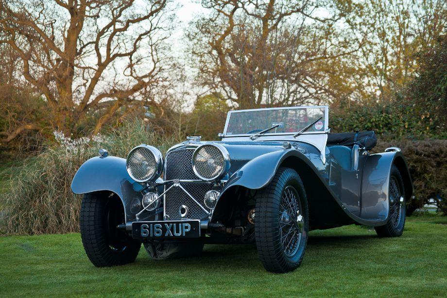 1934 SS 100 Jaguar 3 1/2 Litre Roadster