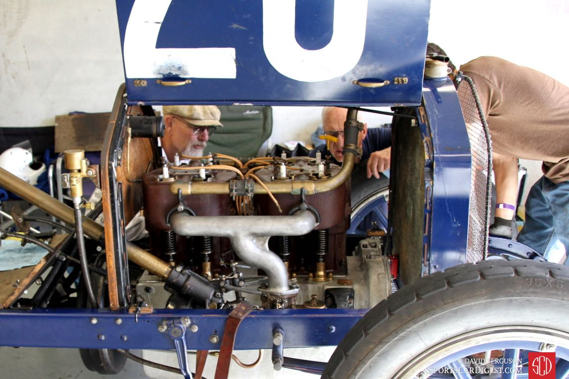 After 105 years, things can go wrong with an engine.