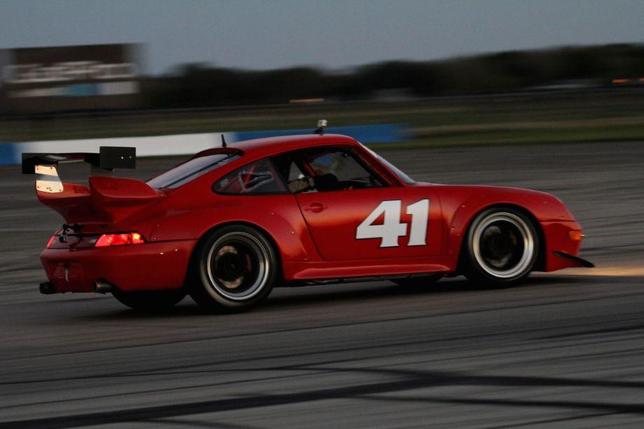 The Jeff Mitchell/Ron Branom 1995 Porsche 993.