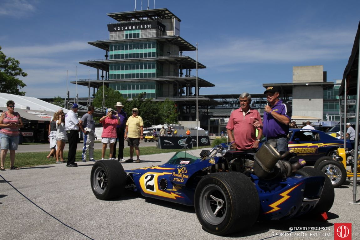 Al Unser and son Al Jr. return to the Speedway.