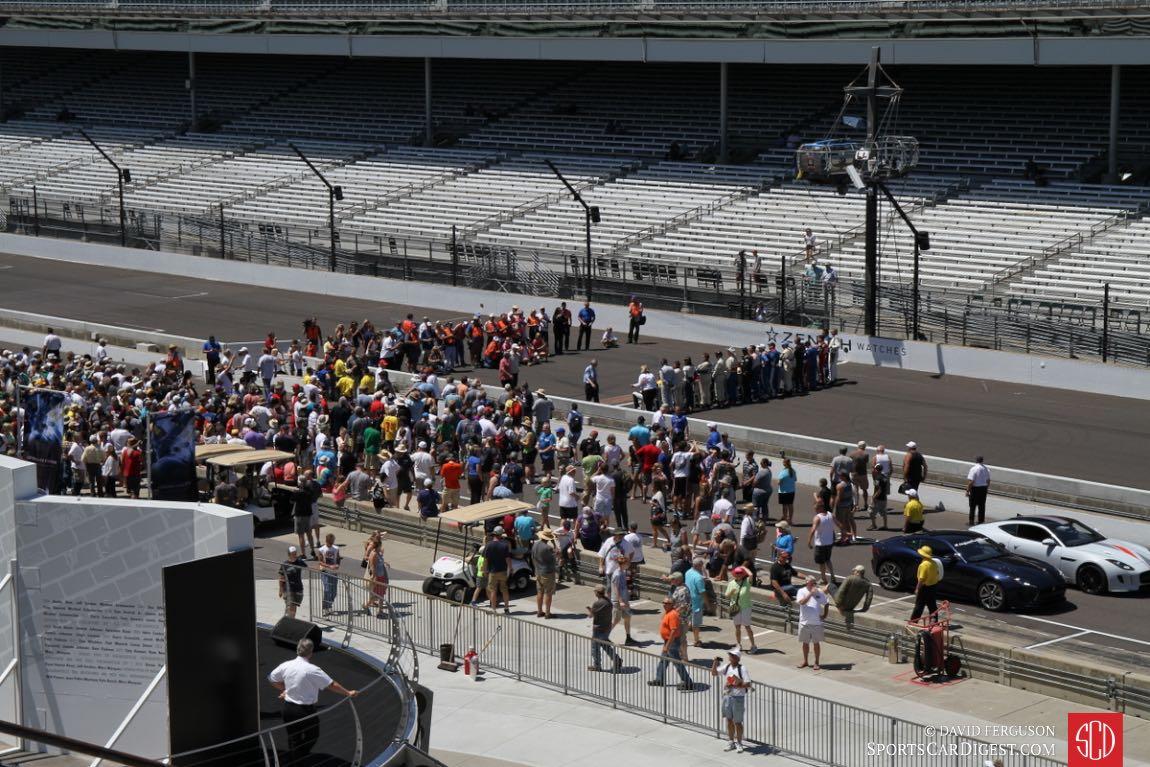 The Pro-Am pre race activities.
