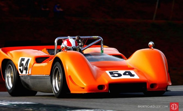 Jim Pace. 68 McLaren M6B