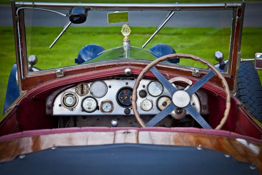 Detail on the Delage