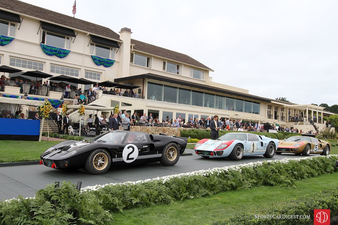 Celebrating the 50th anniversary of the Ford GT40 Victory at Le Mans