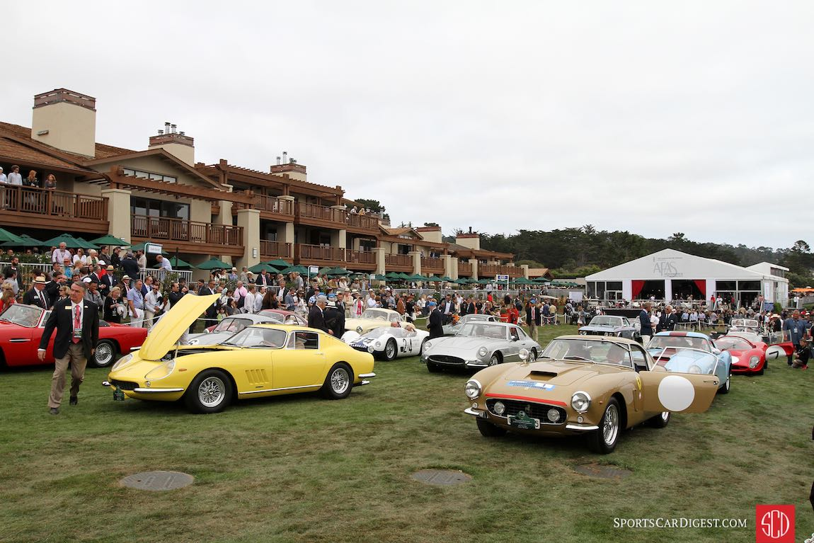 Winners at the 2016 Pebble Beach Concours d'Elegance