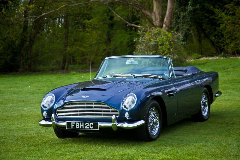 Rare Aston Martin DB5 Convertible