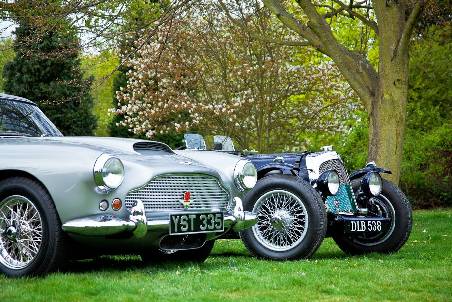 Aston Martin DB4 and 2-litre Aston Martin Speed Model Competition