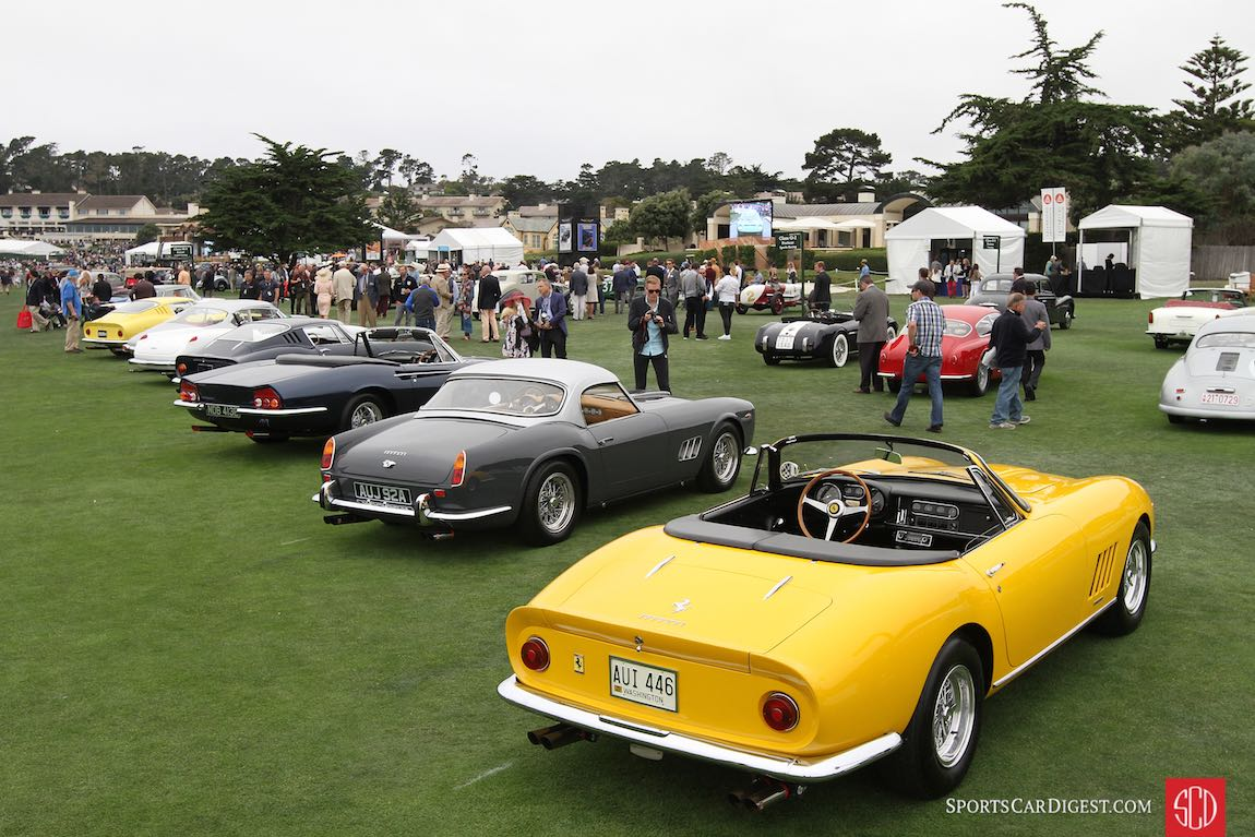 Ferrari Grand Touring Class - 2016 Pebble Beach Concours d'Elegance