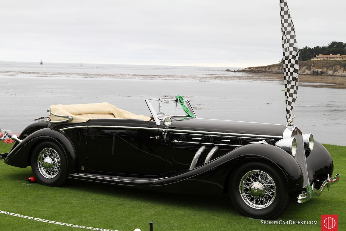 Delahayes were featured at the 2016 Pebble Beach Concours d'Elegance