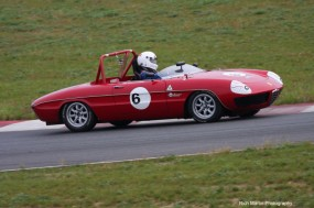 1969 Alfa Romeo Duetto driven by Roy Crowninshield