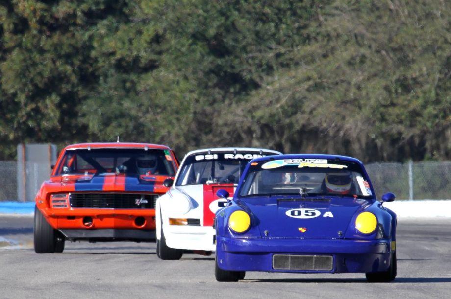 Fritz Seidel, 1973 Porsche 911 IROC RSR