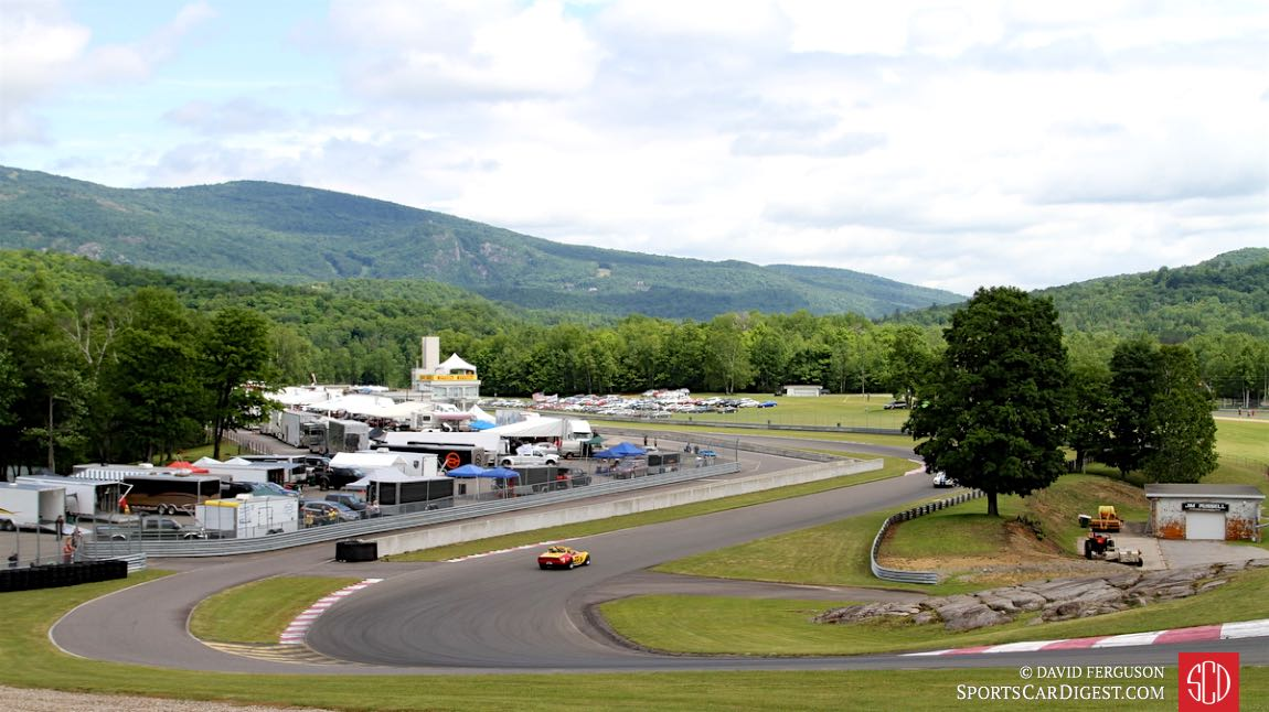 The beauty that is the Circuit Mont-Tremblant.