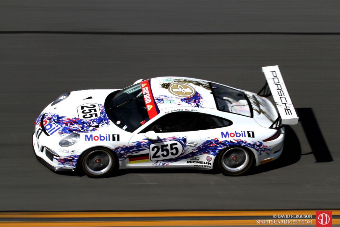 Mark Sandridge, 15 Porsche 991 Cup