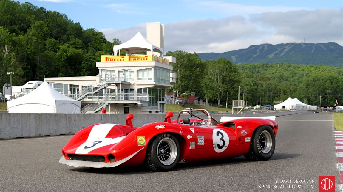 The winner of the first Can-Am race returns to Mont Tremblant.