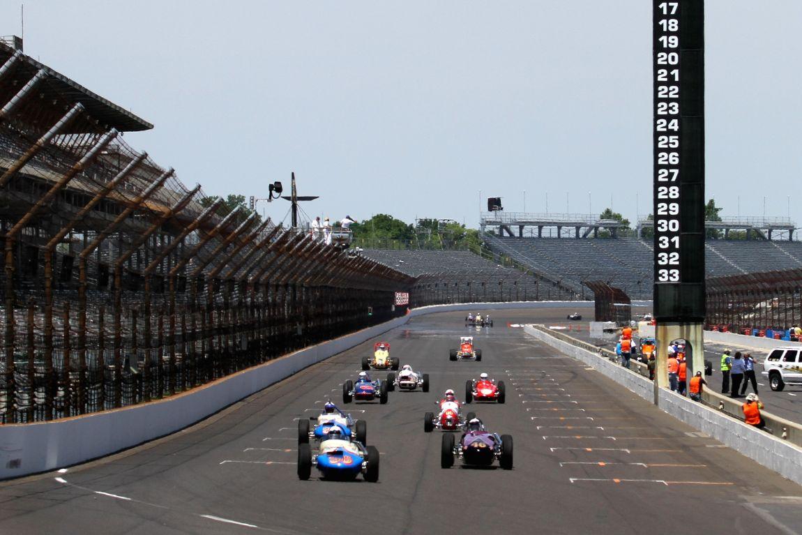 Oval racing.