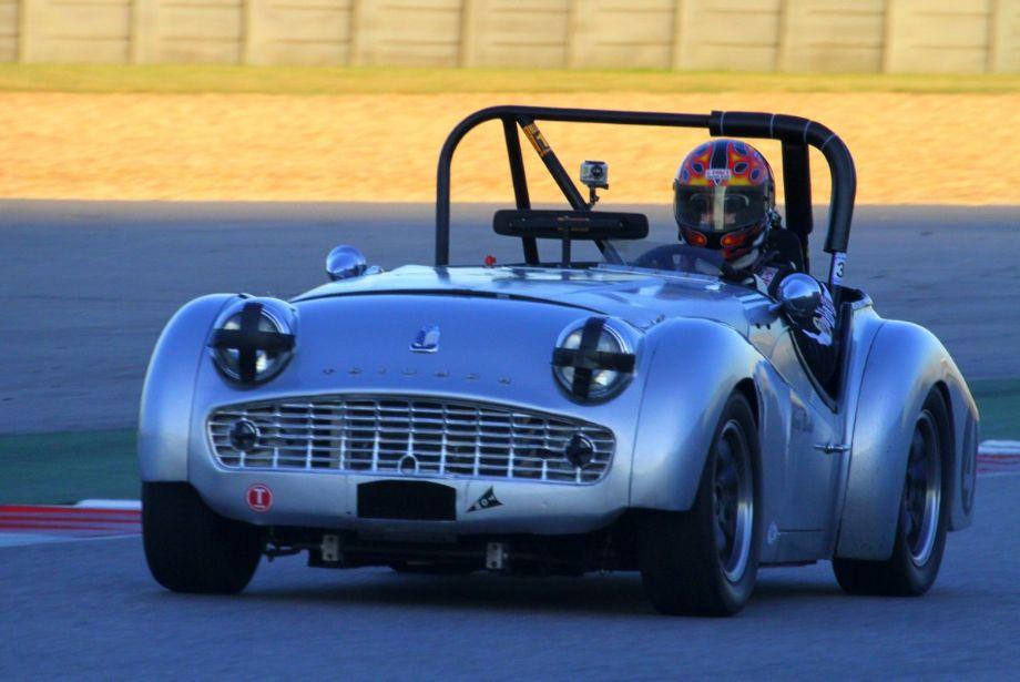 Greg Blake, 1958 Triumph TR3